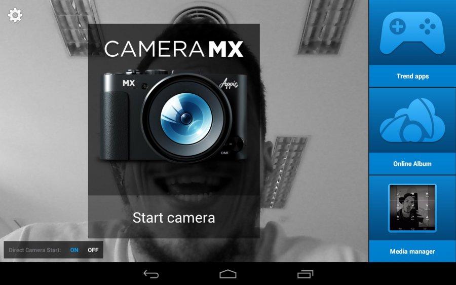 نرم افزار کاربردی عکاسی برای اندروید Camera MX