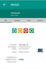 برنامه اندروید نمایش دستگاه های متصل به وایفای NetX PRO