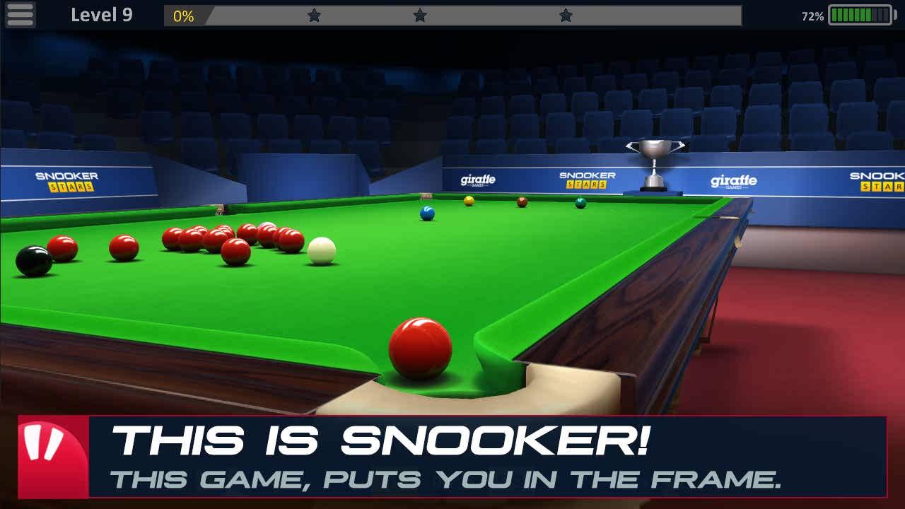 دانلود بازی بیلیارد ستاره اسنوکر برای اندروید Snooker Stars