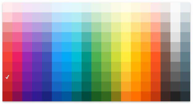 برنامه اندروید نمایش کد رنگ ها Color Picker