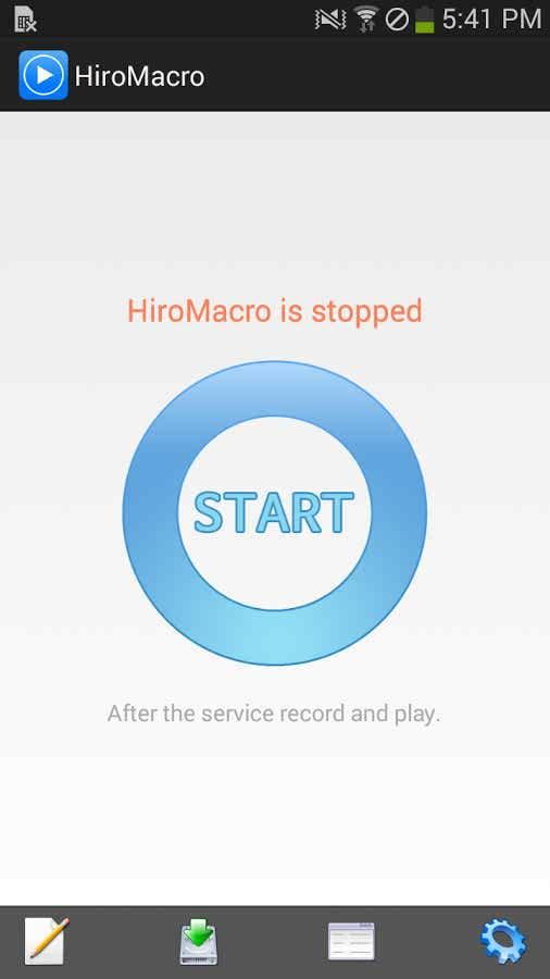 دانلود برنامه تکرار خودکار تاچ اندروید HiroMacro Auto-Touch Macro