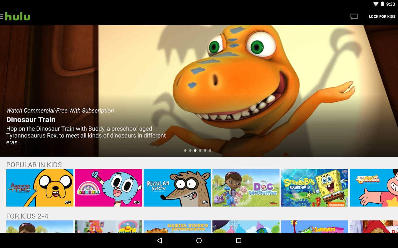 برنامه اندروید تماشای فیلم و سریال Hulu: Watch TV & Stream Movies