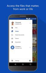 دانلود برنامه ذخیره سازی و آپلود وان درایو اندروید Microsoft OneDrive
