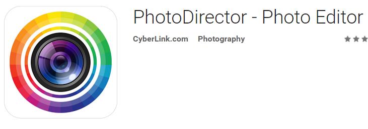 دانلود نرم افزار ویرایش عکس PhotoDirector Photo Editor App اندروید