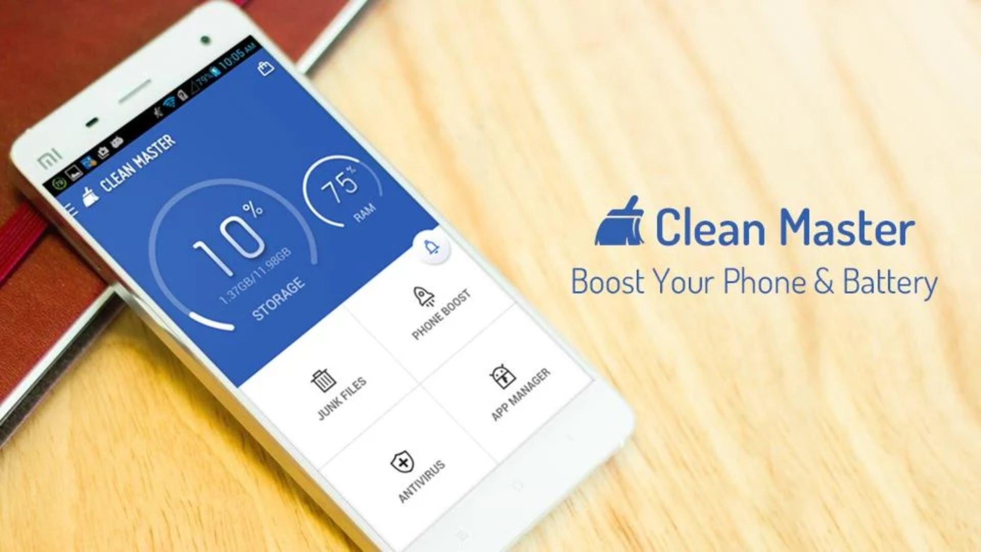 Clean Master (Boost & AppLock) برنامه ی پاکسازی اندروید