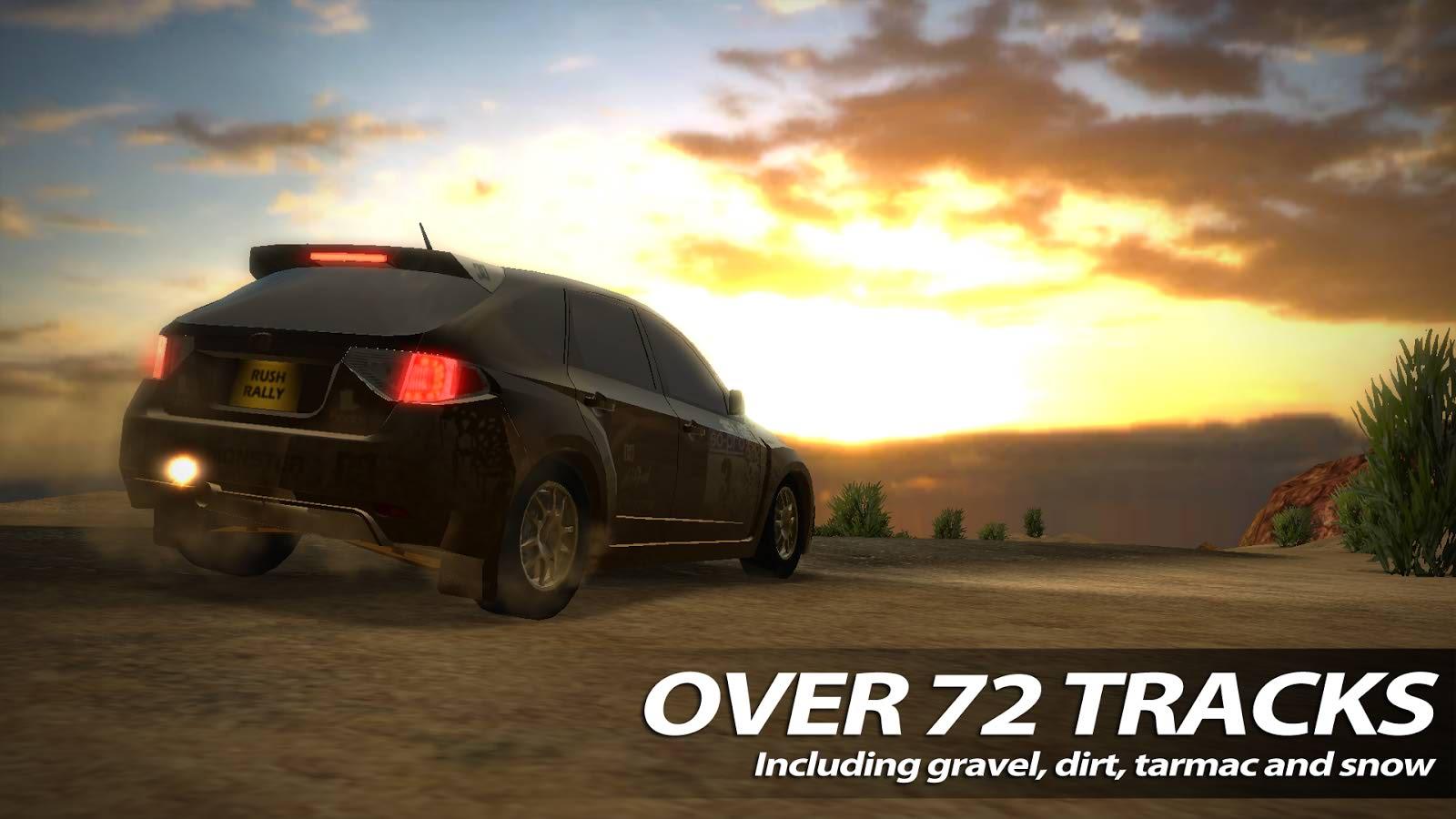 دانلود برترین بازی رالی برای اندروید Rush Rally 2