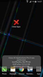 اپلیکیشن بستن تمام برنامه های باز با یک کلیک در اندروید Close ALL Applications PRO