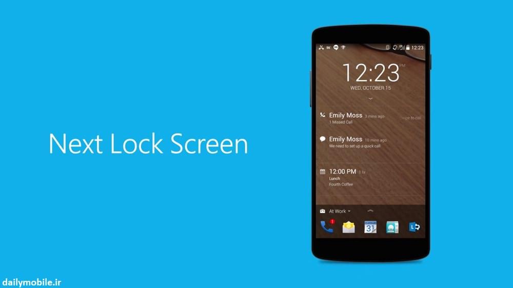 دانلود برنامه لاک اسکرین Next Lock Screen برای اندروید