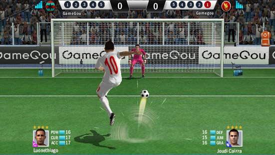 دانلود بازی آنلاین ضربات فوتبال برای اندروید Soccer Shootout