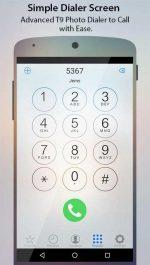 برنامه اندروید تماس صفحه کردن عکس تماس گیرنده Caller Screen Dialer Pro