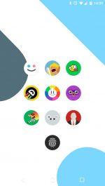 دانلود پکیج آیکون های فلت اندروید FlatDroid - Icon Pack