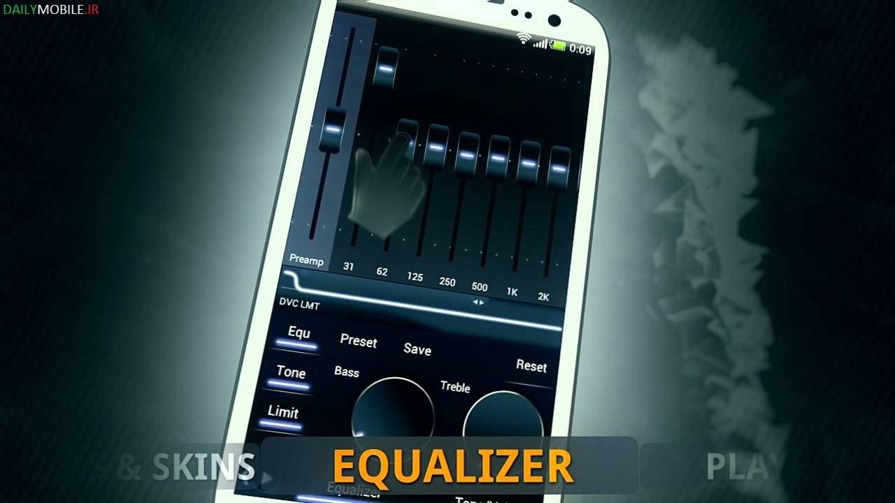 دانلود موزیک پلیر قدرتمند اندروید Poweramp Full Version Unlocker