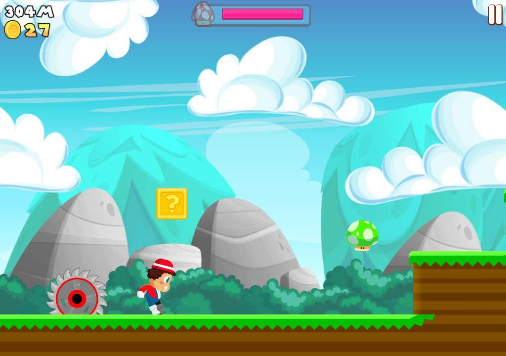 دانلود بازی قارچ خور برای اندروید Super Plumber Run