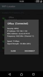 دانلود نرم افزار کنترل وایفای برای اندروید WiFi Locator