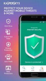 دانلود آنتی ویروس قدرتمند کاسپرسکی اندروید Kaspersky Antivirus & Security