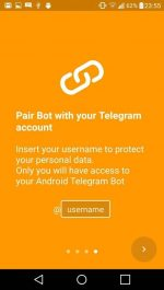 دانلود اپلیکیشن اندروید کنترل گوشی از راه دور به کمک تلگرام Remote Bot for Telegram