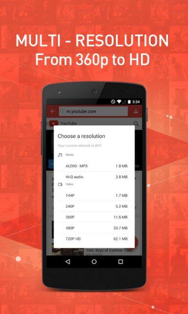 دانلود برنامه snaptube vip برای اندروید