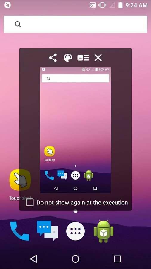 تاچ اتوماتیک اندروید بدون روت دانلود برنامه گرفتن عکس از صفحه نمایش اندروید Touchshot ...