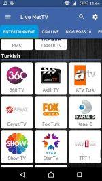 برنامه اندروید پخش هزارن فیلم و شبکه تلویزیونی NetTV