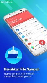 دانلود برنامه بهینه سازی و افزایش سرعت گوشی های اندروید APUS Booster+ (cache cleaner)