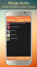 دانلود برنامه ویرایش و میکس فایل های صوتی برای اندروید Audio MP3 Cutter Mix Converter