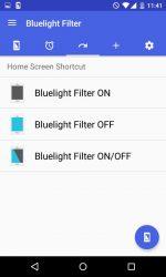 برنامه محافظت از چشم در برابر نور آبی صفحه نمایش اندروید Bluelight Filter for Eye Care