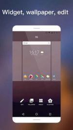 دانلود لانچر زیبای اندروید 7 برای اندروید IN Launcher - Nougat 7.1 style