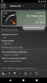 دانلود ویجت نمایش وضعیت باتری اندروید Gauge Battery Widget 2017