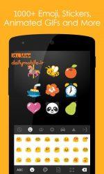 دانلود کیبورد فوق العاده جینجر اندروید Ginger Keyboard - Emoji, GIFs