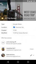 دانلود نسخه جدید نرم افزار گوگل درایو برای اندروید Google Drive