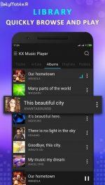 دانلود موزیک پلیر حرفه ای اندروید KX Music Player