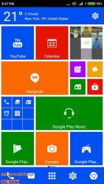 دانلود لانچر ویندوز 10 برای اندروید Metro 10 style launcher pro