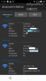 دانلود برنامه قطع اتصال کاربران متصل به وایفای برای اندروید NetCut