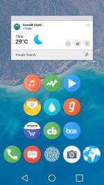 دانلود پکیج آیکون پیکسل گوگل برای اندروید Pixel Icon Pack-Nougat Free UI