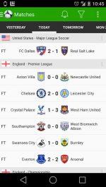 دانلود بهترین برنامه اطلاع از بازی های فوتبال Soccer Scores Pro - FotMob