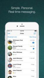 دانلود مسنجر واتساپ برای آیفون WhatsApp iOS