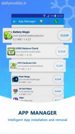 دانلود برنامه ذخیره و بهینه سازی مصرف باتری اندروید Battery Magic Pro