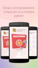 دانلود برنامه مخفی کردن پیامک ها در اندروید Hide SMS and Call Recorder Pro