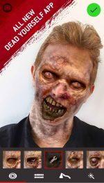 دانلود برنامه اندروید تبدیل عکس به زامبی برای اندروید The Walking Dead Dead Yourself