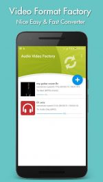 دانلود برنامه تغییر فرمت ویدیو ها و آهنگ ها برای اندروید Video Format Factory