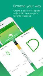 دانلود مرورگر دلفین برای آیفون و آیپد Dolphin browser iOS