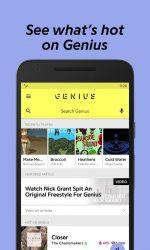 دانلود برنامه شناسایی موسیقی برای اندروید Genius — Song Lyrics & More