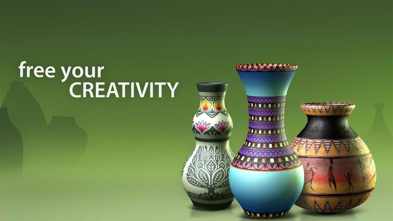 دانلود بازی اندروید سفالگری Let's Create! Pottery