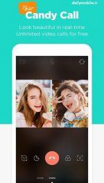 دانلود برنامه اندروید زيبا سازي عكس هاي سلفی Candy Camera – Selfie Selfie