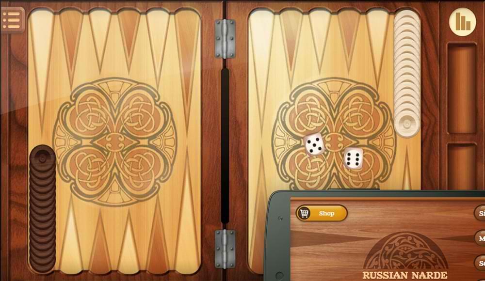 دانلود بازی جذاب تخته نرد برای اندروید Narde