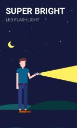 دانلود چراغ قوه قدرتمند اندروید Power Light - Flashlight with LED Reminder Light