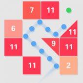 دانلود بازی بسیار زیبای آجر شکن برای اندروید Swipe Brick Breaker