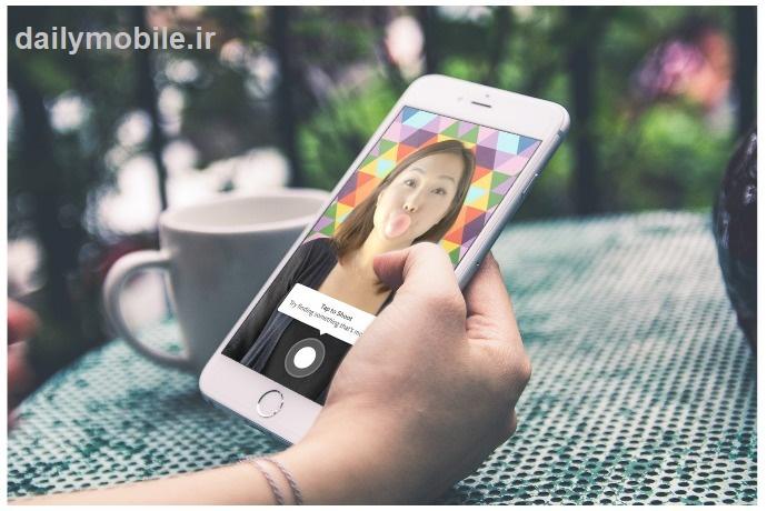 دانلود نرم افزار ساخت ویدیوهای کوتاه در اندروید Boomerang from Instagram