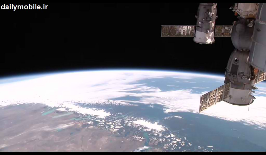 برنامه اندروید پخش زنده تصاویر ایستگاه فضایی بین المللی ISS onLive
