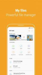 دانلود برنامه رسمی مدیریت فایل سامسونگ برای اندروید Samsung My Files